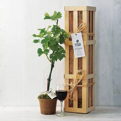 Grapevine Gift Crate from notonthehighstreet.com