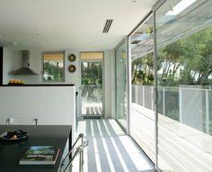 A house full of light with sliding doors | Tudor | MINIMAL LINE| www.tudor-kozijnen.nl/