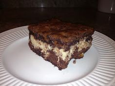 This Shelf Reliance macaroon brownie is so yummy! CarolinaFoodStorage.com #recipe #foodstorage