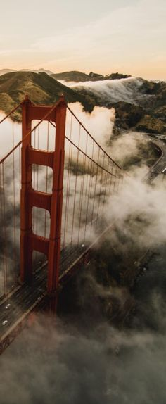 Breathtaking view of the Golden Gate Bridge #UpOutSF