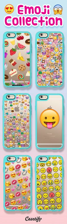 Talk emoji to me! Shop these emoji cases on our website now! Emoji Phone Cases, Cool Iphone Cases, Cool Cases, Diy Phone Case, Cute Phone Cases, Iphone 5c, Iphone 7 Plus, Coque Iphone 6, Capas Iphone 6