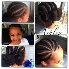 Little Black Girl Press And Curl Hairstyles