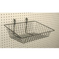 "Pegboard Wire Basket 15"" x 12"" x 5"" Deep"