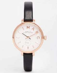 Shop Marc Jacobs Black Sally Watch at ASOS. Trendy Jewelry, Jewelry Accessories, Asos, Gorgeous Women, Sally, Bracelets, Jewels, My Style, Stuff To Buy
