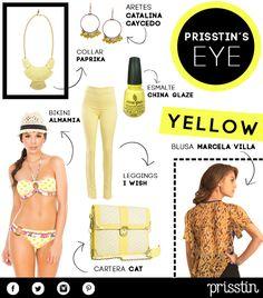 PRISSTIN'S EYE: Amarillo, el color de la temporada que llega para darle vida a nuestro armario.