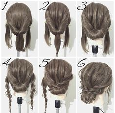 Simple hairstyles medium length hair - New hairstyles 201 .- Einfache Frisuren mittellanges Haar – Neu Haare Frisuren 2018 Simple hairstyles medium length hair hair it Yourself hair - Braided Hairstyles For Wedding, Hair Updos For Medium Hair, Easy Updos For Long Hair, Updos For Medium Length Hair Tutorial, Cute Updos Easy, Simple Hair Updos, Easy Formal Hairstyles, Shoulder Length Updo, Hairstyles For Medium Length Hair Easy