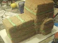 John Deere cake..............Getting ready to make my nephew this cake.