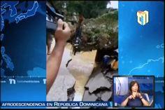 Imágenes del Momento en que colapsó el puente sobre el río Yaguasa, Los Guaricanos