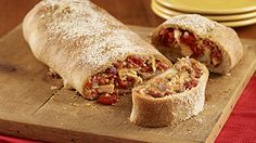 ReadySetEat - Pesto Chicken Stromboli - Recipes