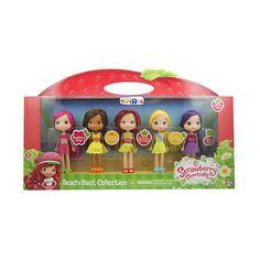 Strawberry Shortcake 6 inch Fashion Doll Multipack - Beach, Strawberry, Raspberry, Cherry, Orange and Lemon