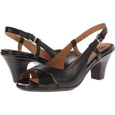 Sofft Verina High Heels, Black ($63) ❤ liked on Polyvore