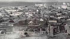 1930 larda Gaziantep'in Güneyden görünüşü