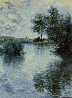 The Seine at Vetheuil, 1879, Claude Monet