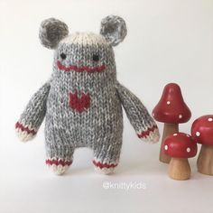 """Gudrun Dahle on Instagram: """"❤️🧦 Sock monster 🧦❤️ . .....He's been sold......"""" Polymer Clay Kawaii, Polymer Clay Animals, Softies, Plushies, Stuffed Animal Patterns, Dinosaur Stuffed Animal, Sock Monster, Softie Pattern, Polymer Clay Miniatures"""
