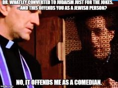 Jerry confesses to Father Curtis. Tv Shows Funny, Best Tv Shows, Best Shows Ever, Favorite Tv Shows, Movies And Tv Shows, Comedy Series, Comedy Tv, Seinfeld Quotes, Humor
