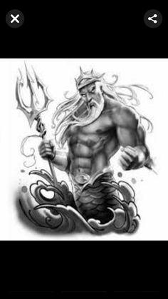God Tattoos, Statue, Art, Cool Tattoos, Art Background, Kunst, Performing Arts, Sculptures, Sculpture
