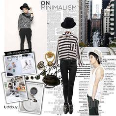 """Lee Minho"" by nyamnyam ❤ liked on Polyvore"