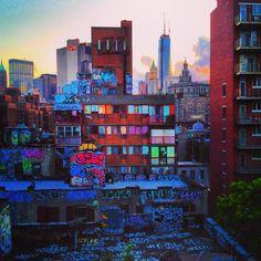 New York City Impressions | Downtown NYC From Manhattan Bridge