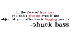 oh Chuck! <3 <3