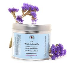 The Muscle Soothing One | Muscle Relaxing Bath Salts | Bath Salts Soak | Epsom Salts | Aromatherapy Salts