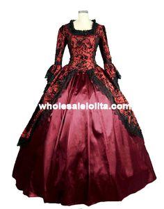 Encontre mais Vestidos Informações sobre Gothic Lolita vitoriana vestido Prom vestido Cosplay reconstituição teatro traje das mulheres, de alta qualidade vestido de baile, vestido rosa China Fornecedores, Barato traje da mascote de Victorian Dress   Prom Dress   Party Dress  Wedding Dress em Aliexpress.com