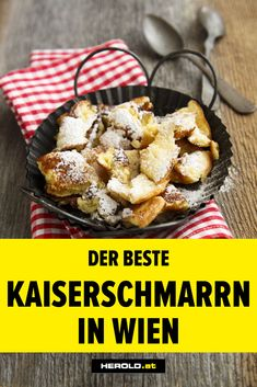 Der beste Kaiserschmarrn in Wien: die Top 8 Lokale - HEROLD. Restaurant Bar, Breakfast Restaurants, Vienna, Travel Stuff, Travel Tips, Food And Drink, Good Things, Travel Europe, Wanderlust