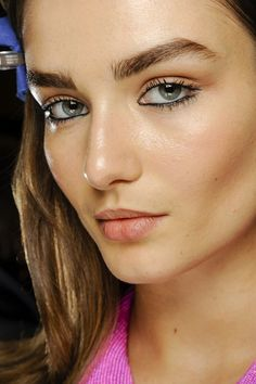 Makeup at Versace F/W 2013, Milan Fashion Week