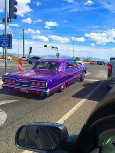 Purple 64 In Traffic