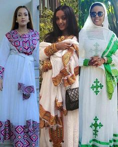 Ethiopian Wedding Dress, Ethiopian Dress, Ethiopian Traditional Dress, Traditional Dresses, African Beauty, African Fashion, African Style, Hope Fashion, Fashion Outfits