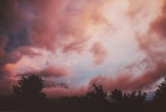 """observando: """"by i_used_to_be_a_coccinelle """" Marsala, Fall Wallpaper Tumblr, Beautiful Scenery Pictures, Lights Artist, Pretty Images, Pink Clouds, Rhone, Paint Shop, Pattern Wallpaper"""