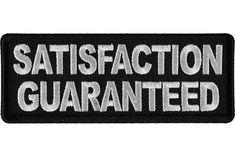 Satisfaction Guaranteed Patch