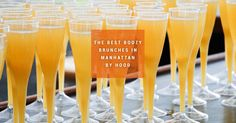 Best Boozy Brunches | Time to start planning for the weekend...