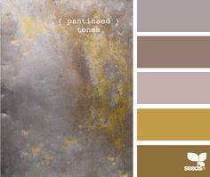 patinaed tones