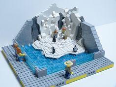 Lego Zoo, Lego Penguin, Lego Christmas Village, Lego Winter, Lego Friends Sets, Lego Challenge, Lego Animals, Lego Pictures, Lego Activities