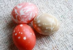 Kool-Aid Marbled Easter Eggs -- Easy and beautiful!