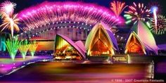 One of our prized landmarks - the Sydney Opera House will be aglow with amazing lighting this month with Vivid. If you are wondering if the Sydney Harbour Bridge ever looks like this...have you missed New Years Eve Down Under?