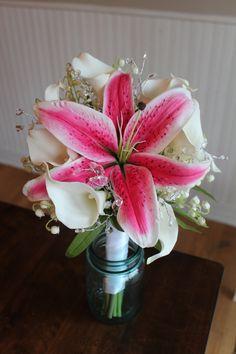 Last Minute Silk Bridal Bouquet — Silk Wedding Flowers and Bouquets Online Lilly Bouquet Wedding, Bridal Bouquet Blue, Summer Wedding Bouquets, Wedding Flowers, Prom Flowers, Wedding Colours, Boquet, Wedding Bells, Wedding Dresses