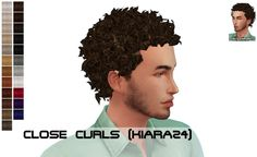 Kiara24 Close Curls for all ages at Porcelain Warehouse via Sims 4 Updates