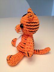 Ravelry: Amigurumi tiger pattern by Justyna Kacprzak