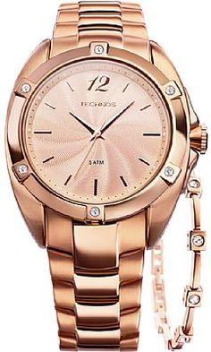 548b49b708e Relógio Technos Feminino Elegance Swarovski 2035FFO 4T