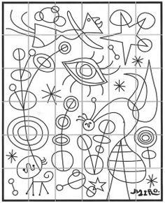 Joan Miro Mural · Art Projects for Kids - Kunstunterricht Art Lessons For Kids, Projects For Kids, Art For Kids, Art Projects, Art Children, Joan Miro Paintings, Ecole Art, Collaborative Art, Mural Art