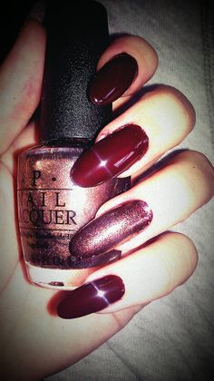 nice color and rounded nail length.