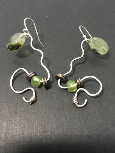 Greenery Jewelry, Moss Green Jewelry, World Earth Day, Green Earrings, Dangle Earrings, Acrylic Beads, Cultured Pearls, Jewelry Collection, Greenery, Gifts For Her, Dangles, Gemstones