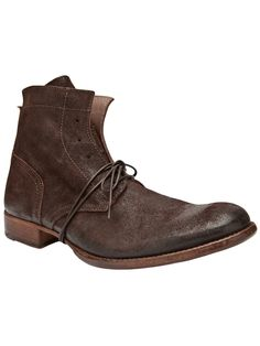 MOMA, distressed boot