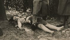 Crime Scene Photo / The Murder of Virginia Brammer / New York