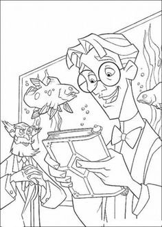 Atlantis coloring page 70