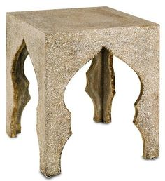 Made from polished aggregate concrete, this Accent table is sleek and modern…