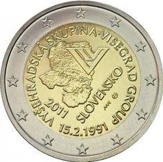 Erikoiseurot Slovakia 2 €