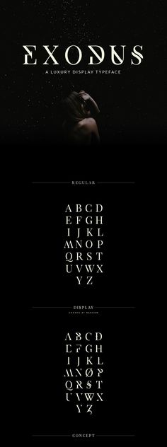 Exodus - Free Typeface on Behance
