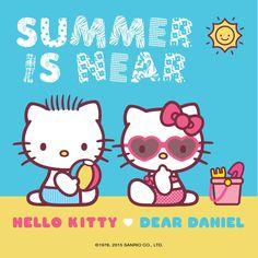 Dear Daniel and Hello Kitty
